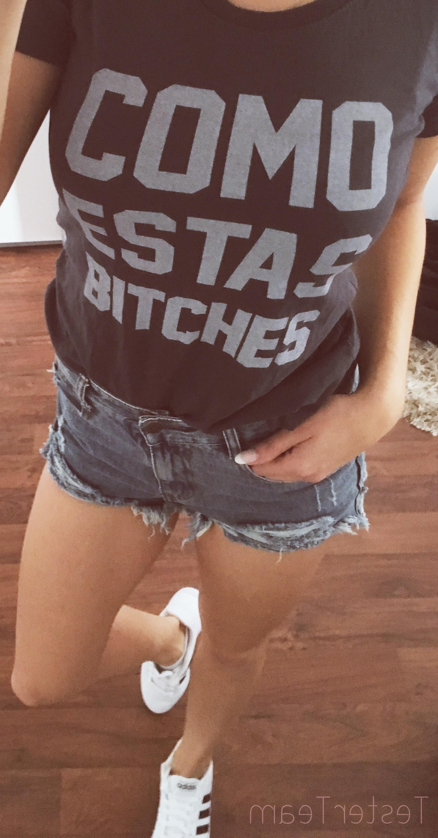 Kater likoli und das shirt Como Vestas bitches