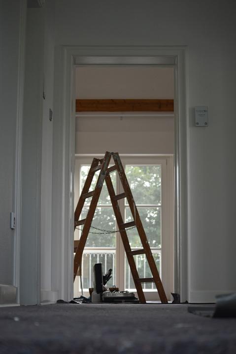 Renovierung Umzug Leiter Zimmer